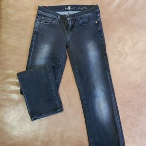 black 7 for all mankind jean